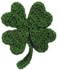 Super cute. Who doesn't love green, or four leaf clovers? May whip up a batch of these :)