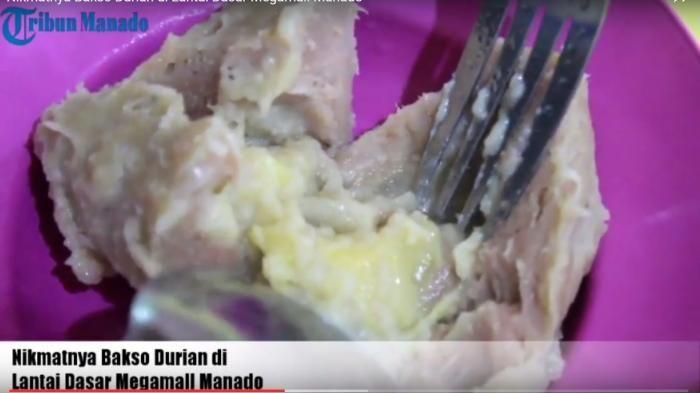 Bakso 4 Rasa Manado - Unik, Ada Rasa Durian di Makanan Seger Ini, Siap-siap Terkejut Isi di Dalamnya