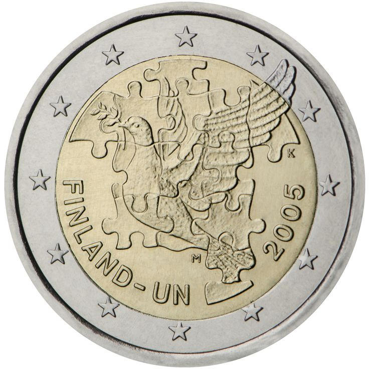 8 best 2005 Euro €2 Commemoratives images on Pinterest | Euro coins ...