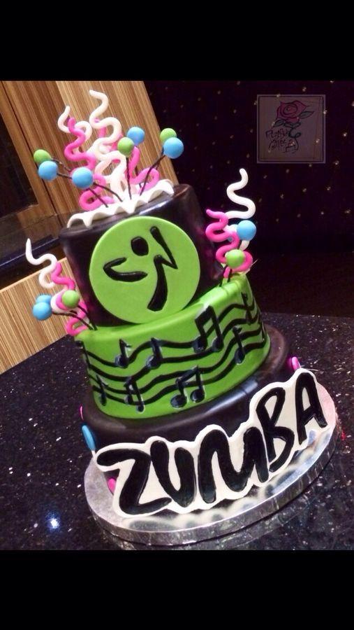 Zumba Cake Cake Ideas Pinterest