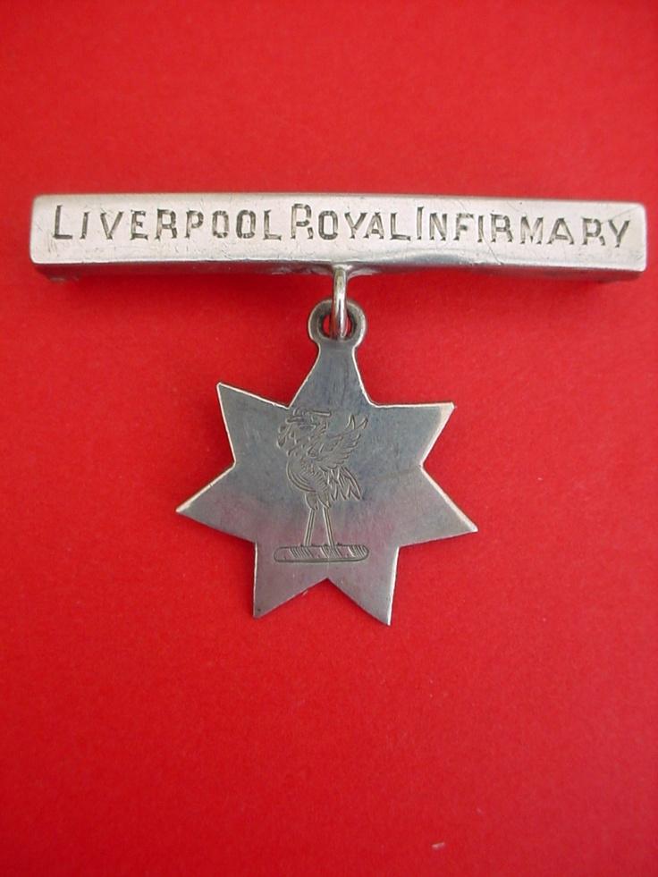 Nurses badge Liverpool Royal Infirmary
