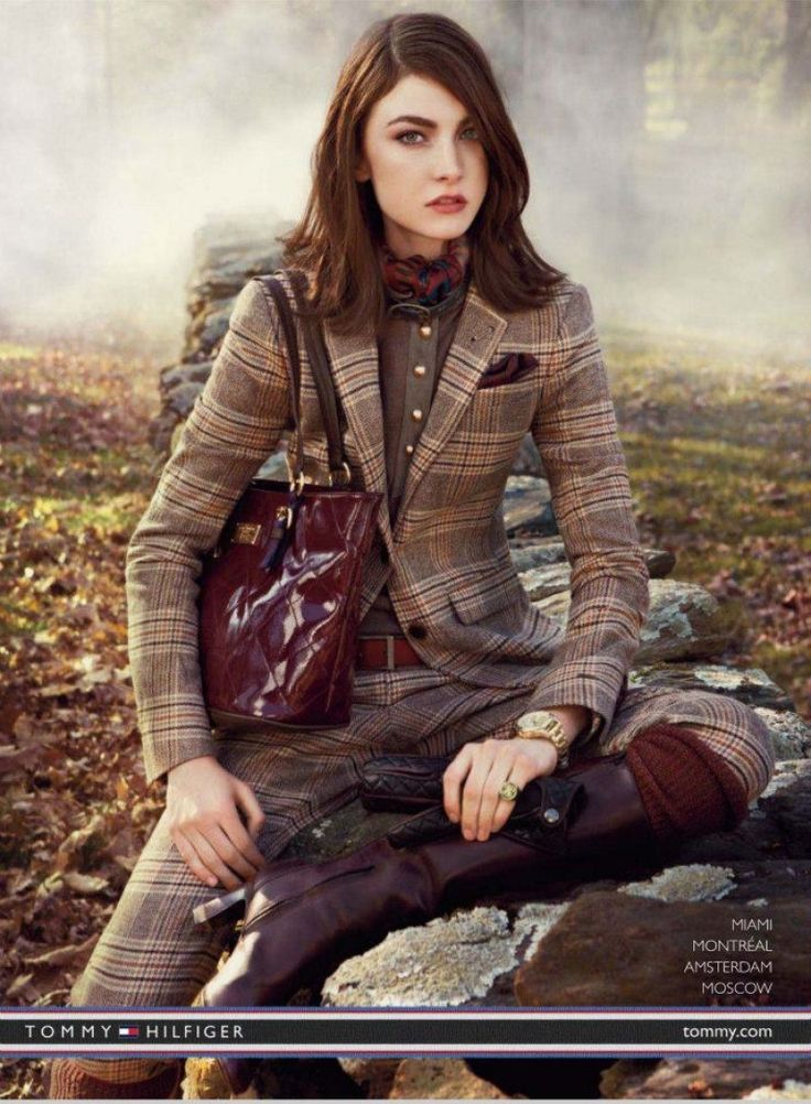 Tommy Hilfiger Campaign FW 2012-13 - Toni Garrn, Tao Okamoto, Jacquelyn Jablonski and Others by Craig Mcdean