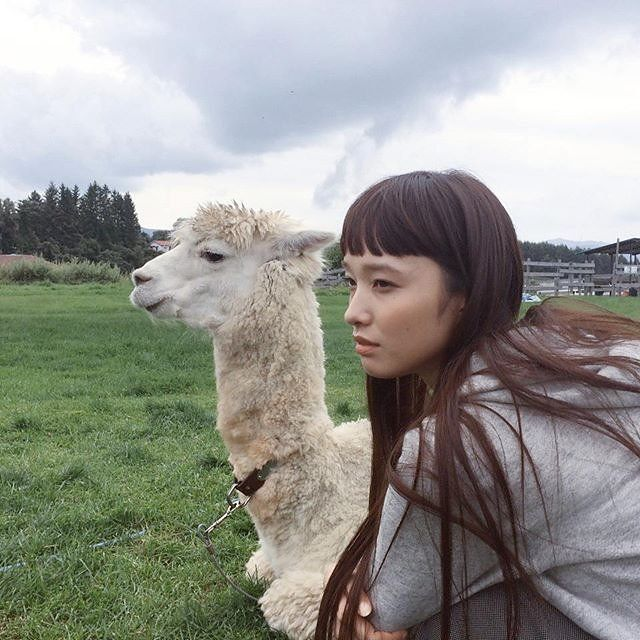 Japanese Model Yuka Mannami's Hip-Grazing Hair Is Our NYFW Obsession