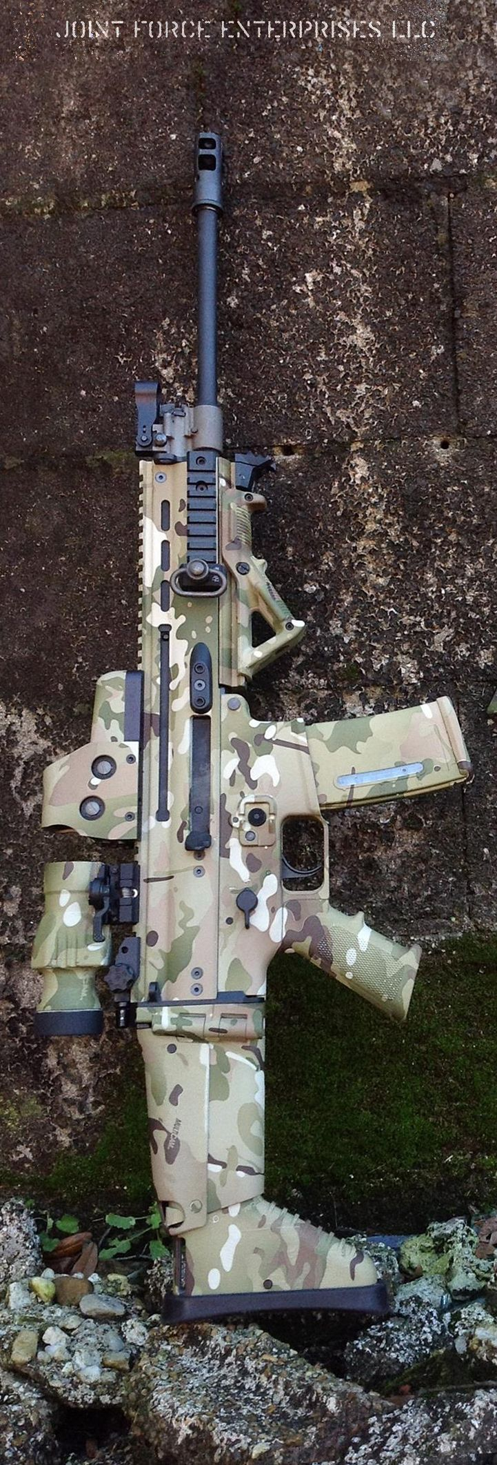 Custom SCAR by Joint Force Enterprises.