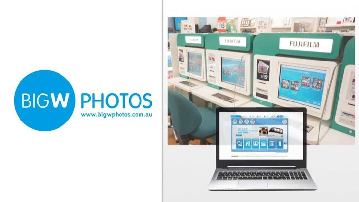 Big W. A fast & easy way to bring your photos to life!