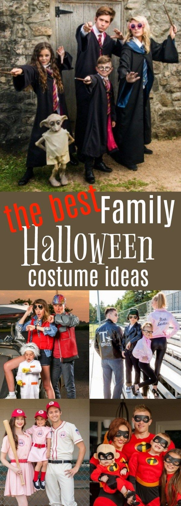 Need family halloween costumes with toddler kids? These are AWESOME! #ad