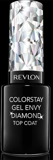 NEW Colorstay Gel EnvyDiamond Top Coat™ANDColorstay Gel Envy™Longwear Nail Enamel. Our Toughest Top Coat Yet5 Free Formula No Formaldehyde, Dibutyl Phthalate (DBP),Toluene, Camphor, or Formaldehyde Resin. My Shade: DIAMOND TOPCOAT.