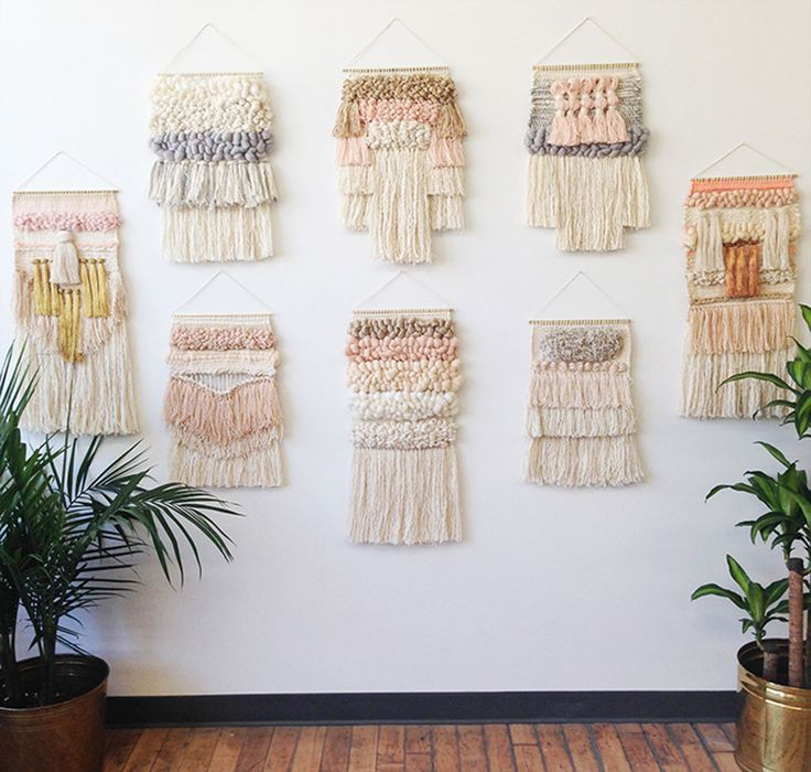 Weaving woven wall hanging tapestry collection by