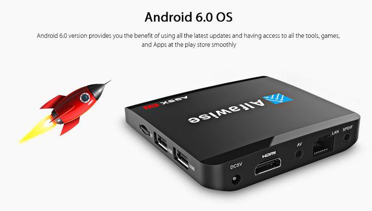 Een volwaardige en snelle Android 6.0 Mediaplayer! De #Alfawise A95X R1 is voorzien van #KODI, zodat je gelijk kan beginnen met films kijken :-)  Nu €23!!  http://gadgetsfromchina.nl/alfawise-a95x-r1-android-6-0-mediaplayer-e23/  #Gadgets #Gadget #Gadgetsfromchina #Gearbest #sale #deal #Offer #Alfawise #A95X #Android #Mediaplayer #KODI #Films #Movies #Series #fun #relax #Cinema #friends #home
