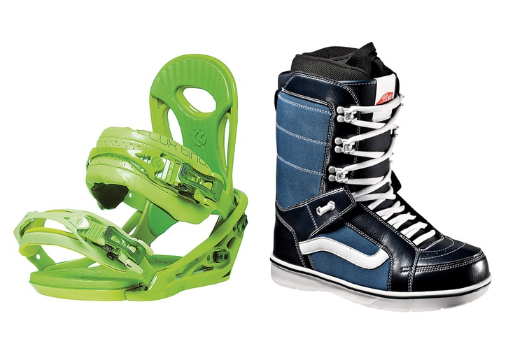Zac Marbin Flux Bindings and Vans combo    30 Days Of Giveaways Are Coming | TransWorld SNOWboarding