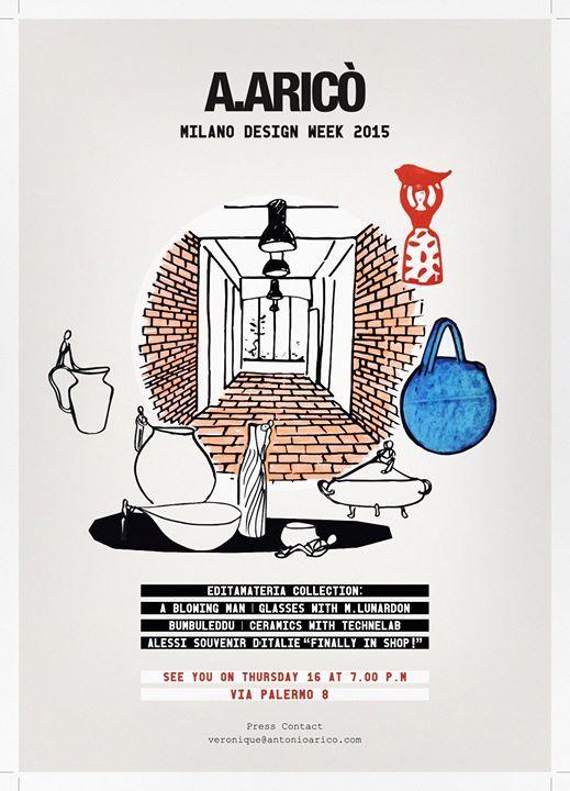 Antonio Aricò - Editamateria DESIGN WEEK 2015 – Heyevent.com