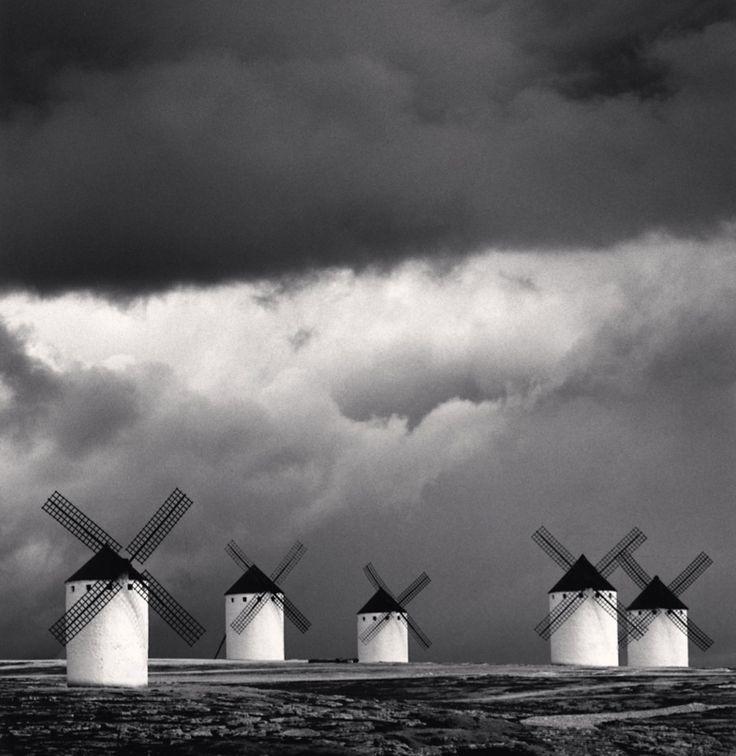 Quixote's Giants, Study 2, Campo de Criptana, La Mancha, Spain. 1996