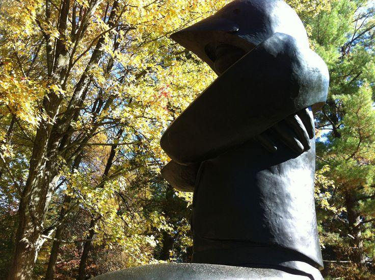 Autumn in the McMichael Sculpture Garden