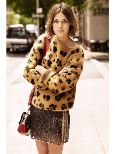 cheetah: Leopard Print, Leopards Sweaters, Street Style, Leopardprint, Style Icons, Leopards Prints, Animal Prints, Alexachung, Alexa Chung