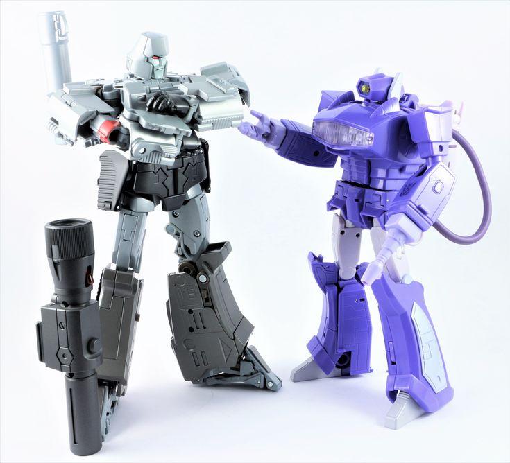 Transformers Masterpiece MP-36 Megatron and MP-29 Laserwave