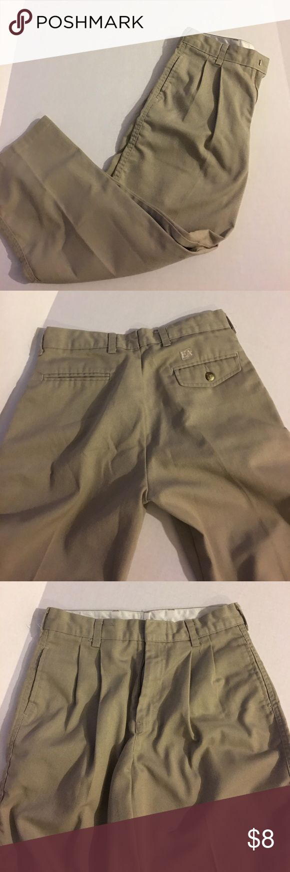 Boy's Size 14 Khaki tan School Uniform pants Great condition. No marks or stains. 2+ items= 20% off; 4+items=30% off. elderwear Bottoms Casual