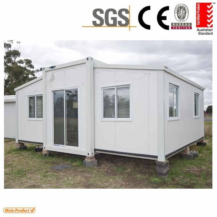 Mobile Home Cabin expandable container house 3 in 1 from China