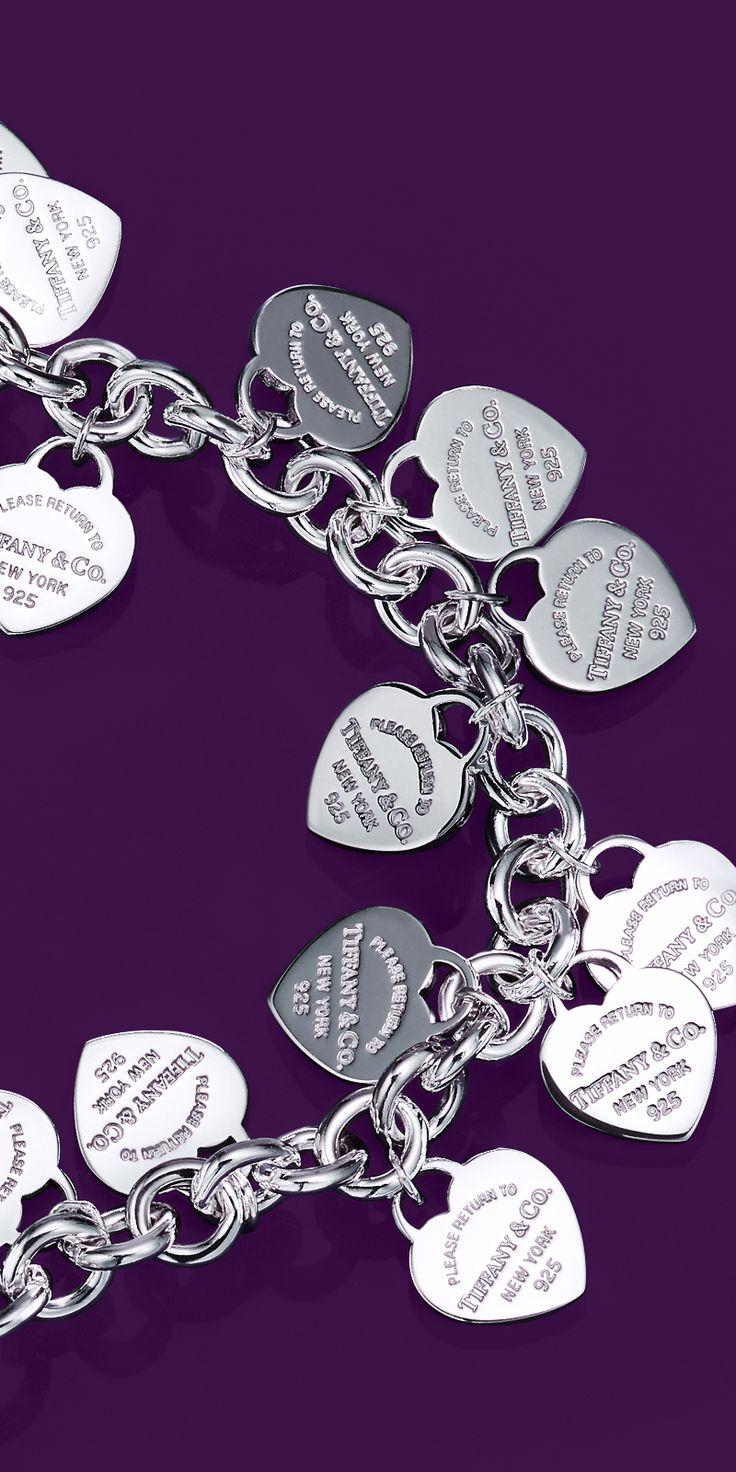 Tiffany Heart Bracelet >> Return to Tiffany® Multi–heart Tag Bracelet | Charm ...