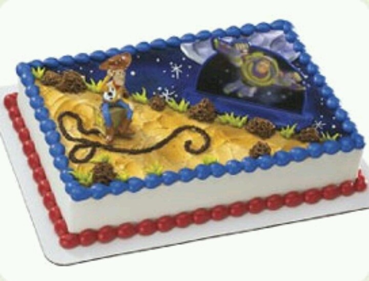 Kroger Sheet Cake Designs : Toy story sheet cake. From giant grocery store ...