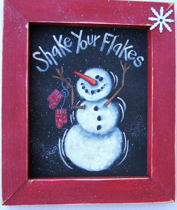 Hey, I found this really awesome Etsy listing at https://www.etsy.com/listing/59731049/snowman-shake-your-flakes-sign-tole