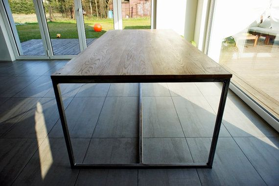 Tabel grote eetkamer tafel keukentafel houten tafel