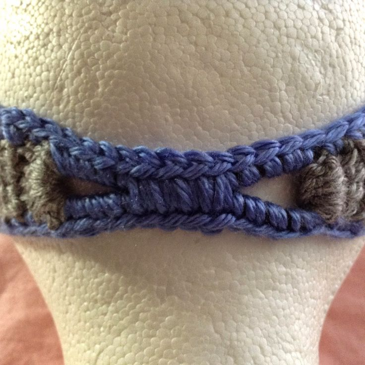 The Shtick I Do!: How to cover elastic for a crochet headband!