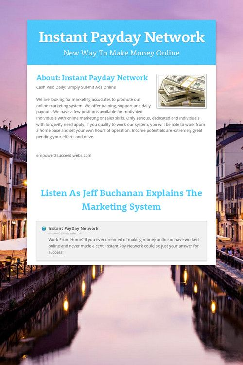 Instant Payday Network