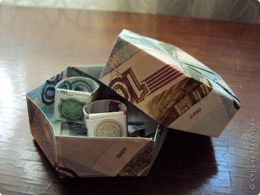 Мастер-класс Упаковка 23 февраля 8 марта День рождения Свадьба Оригами Оригинальный денежный подарок Бумага фото 1