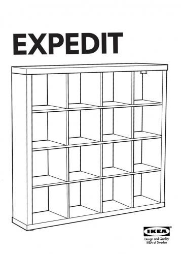 IKEA recently announced that they are discontinuing their Expedit line of  bookshelves-at least in Germany-and the news has sparked