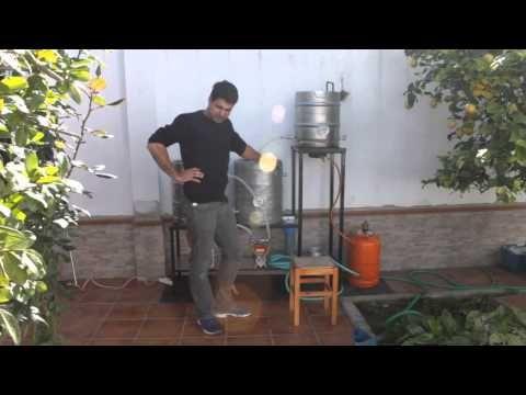 Elaboración Cerveza Casera con equipo de 2º LVL Paso a Paso - YouTube