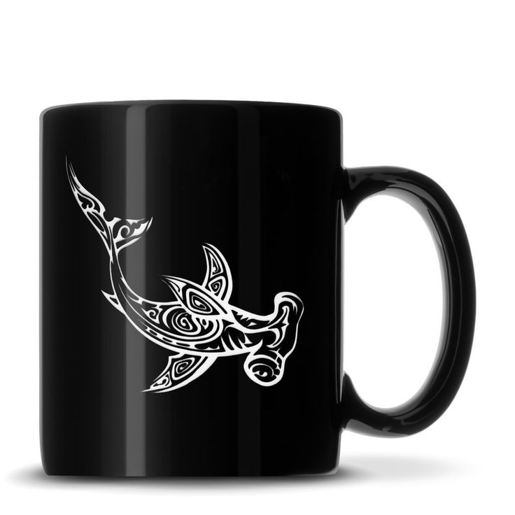 Look what we just made! Black Coffee Mug ... Order yours today: http://integritybottles.com/products/black-coffee-mug-with-tribal-hammerhead-shark-deep-etched?utm_campaign=social_autopilot&utm_source=pin&utm_medium=pin  #integritybottles