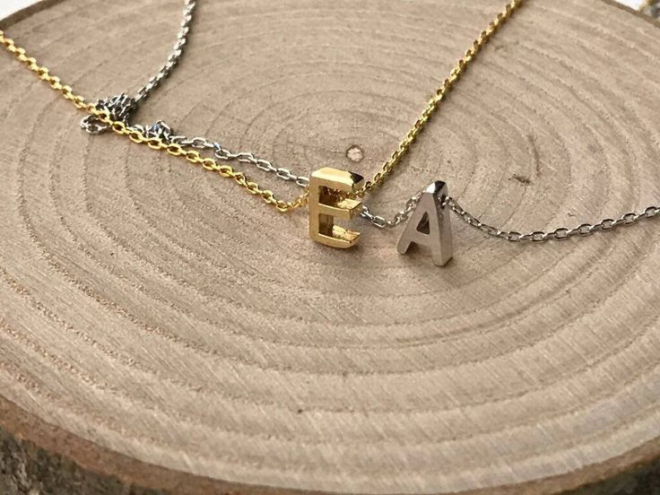 Excited to share the latest addition to my #etsy shop: 14K Solid Gold, Personalized Name Necklace, Name Necklace, Initial Necklace, Gold Sideways Initial Necklace, Gold Necklace, Letter Necklace #jewellery #necklace #gold #box #whitegold #yes #girls #rosegold #letterswords