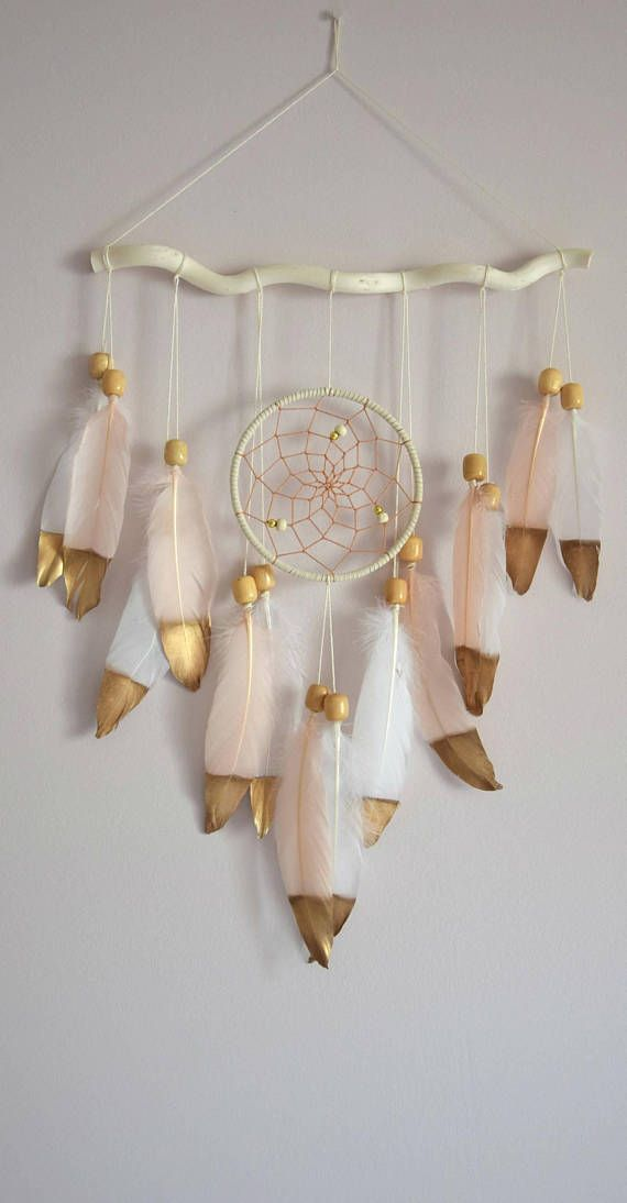 Boho Dream Catcher Wall Hanging Feather Tribal Bedroom