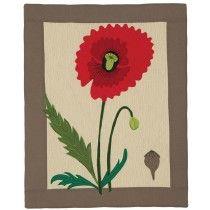 Botanical Quilt Kits - Poppy Quilt Kit