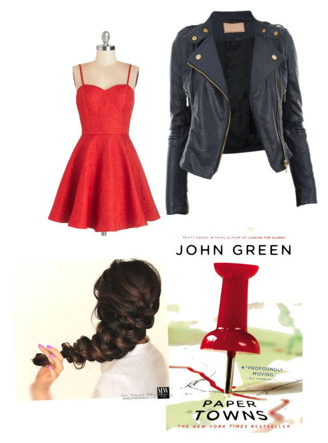 """Margo (paper towns) themed outfit"" by violingirl2003 ❤ liked on Polyvore featuring Chi Chi and CO"
