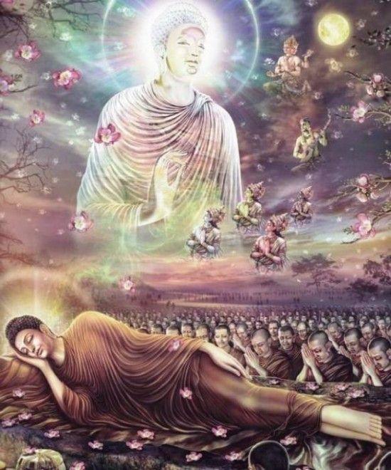 Lord Buddha Ji In Sleeping Posture