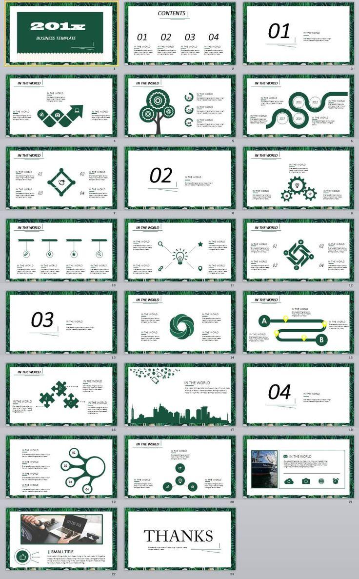 181 besten 2018 Business Powerpoint template Bilder auf Pinterest ...