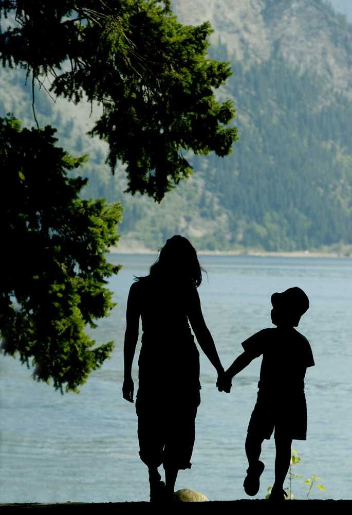 mother and son photography ideas | mother and son mother and son share a summer moment while walking to ...