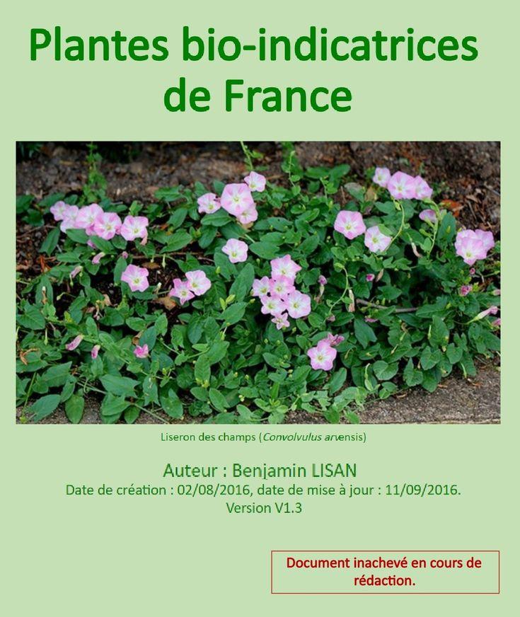 Plantes Bio-Indicatrices de France [Benjamin LISAN]