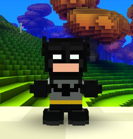 Batman Cube World Skin