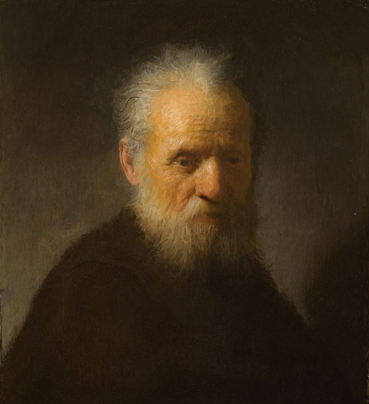 Rembrandt: Old Man with Beard