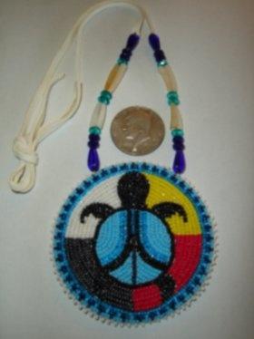 Nakonaeaglethunder - Native American Beadwork for Sale's - Turtle Nation Collection