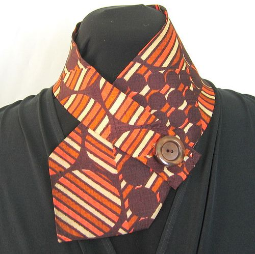 these are such fun to make with vintage ties..Crafting 365 - Day 124 by nancygamon, via Flickr...love this