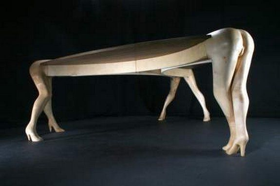 Crazy Shaped Furniture