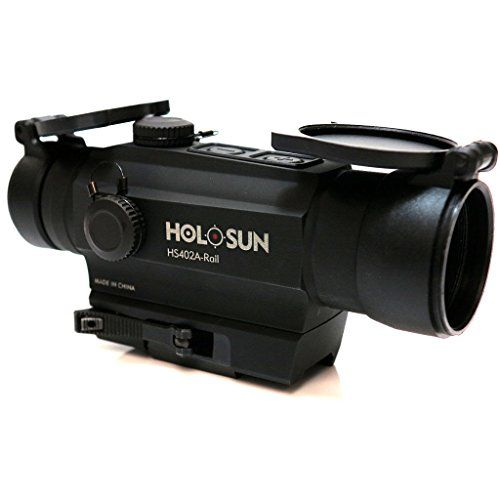 Airsoft Shooting Gear Holosun 1x30 Red Dot Sight Scope with Side Rail >>> More info could be found at the image url.