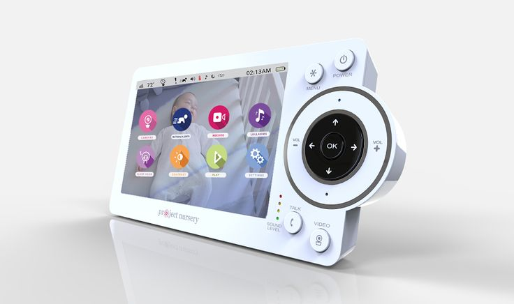 project nursery baby monitor you can view your baby in hd and use the first ever mini monitor. Black Bedroom Furniture Sets. Home Design Ideas