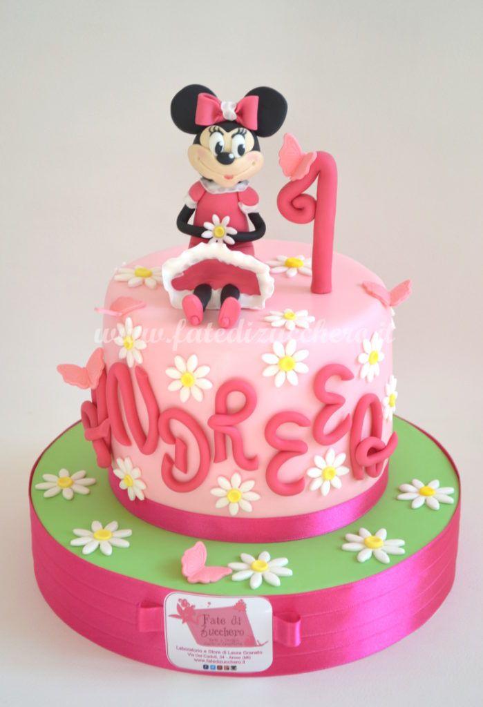 Torta Minnie per il Primo Compleanno | | Fate di Zucchero - Cake Designers