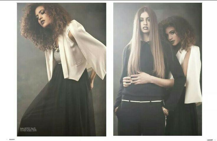 'While the fields burn' Elegant Magazine Spread   Models: Asha Carty and Nathalie C Photographer: KajaPhoto  Hair and MUA: Samantha Mcleod Stylist: DonnaMay Stylist Clothing: Vincent Boutique/Assorted Vintage