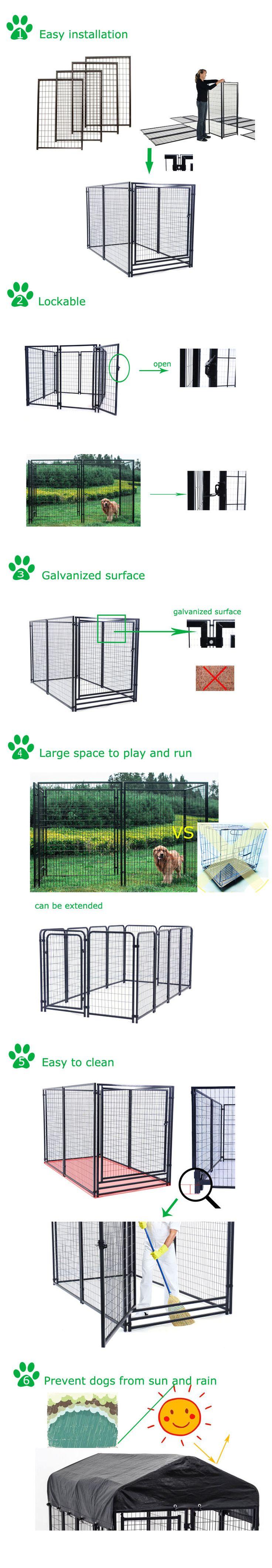 Best 25+ Dog run panels ideas on Pinterest | Chicken wire fence ...