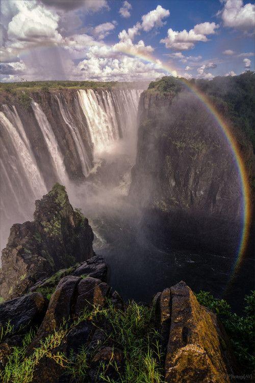 Victoria Falls - Zimbabwe/Zambia Africa- The Worlds Largest Waterfall- I wanna go!
